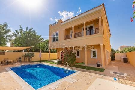 5 Bedroom Villa for Sale in The Villa, Dubai - Walk to school|5BR|Mazaya A1|Facing Park