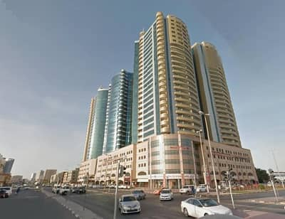 1 Bedroom Flat for Sale in Ajman Downtown, Ajman - Horizon Towers: Hot Hot 1 Bed Hall Empty Flat (1287 sqft) very very big