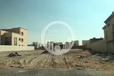 Plot for Sale in Khalifa City A, Abu Dhabi - Corner plot in South west of KCA for Sale