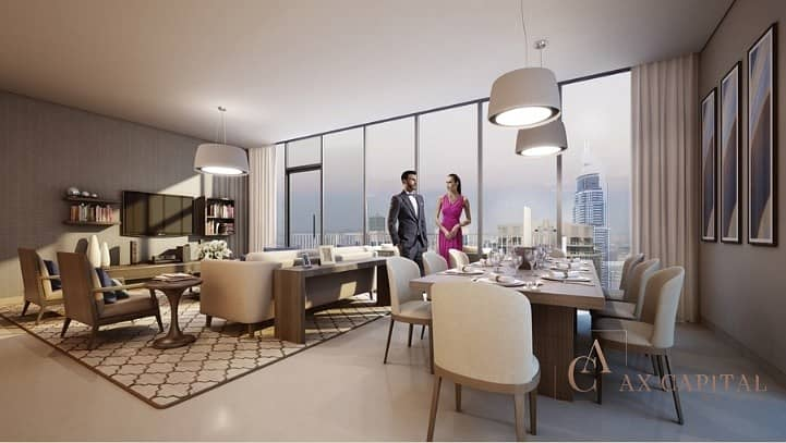 2 CAPTIVATING APARTMENT I 3 YEARS POST HANDOVER  PAYMENT