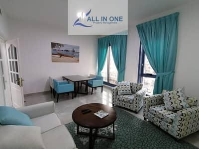 فلیٹ 2 غرفة نوم للايجار في منطقة النادي السياحي، أبوظبي - Uniquely Designed and Furnished 2 BR w/ Utilities and Parking