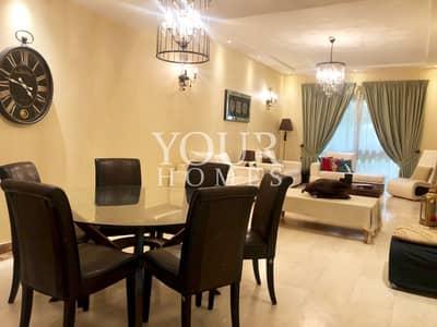 تاون هاوس 4 غرفة نوم للبيع في قرية جميرا الدائرية، دبي - Upgraded 4 Bed w Maids Indigo Ville TH