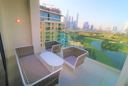شقة فندقية 3 غرفة نوم للايجار في التلال، دبي - Brand New | Furnished | High End | Golfcourse View