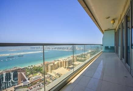 فلیٹ 3 غرفة نوم للايجار في دبي مارينا، دبي - Dubai Marina Specialist | Full Sea & Palm View