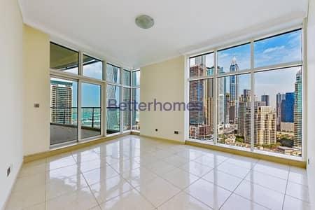 فلیٹ 3 غرفة نوم للايجار في دبي مارينا، دبي - Full Marina View | 3BR | Avant | Vacant.