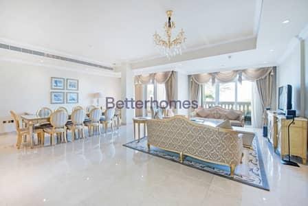 تاون هاوس 4 غرفة نوم للبيع في نخلة جميرا، دبي - Fully Furnished I Private Beach Access | Sea View