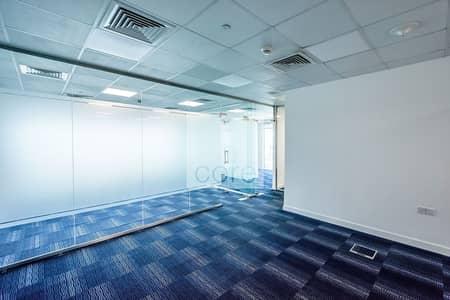 مکتب  للايجار في شارع الشيخ زايد، دبي - Vacant | Fully Fitted Office | Corner Unit