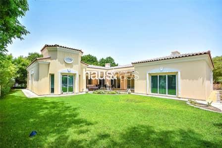 4 Bedroom Villa for Rent in Green Community, Dubai - Opposite Tennis Courts | Grey Water | Vacant