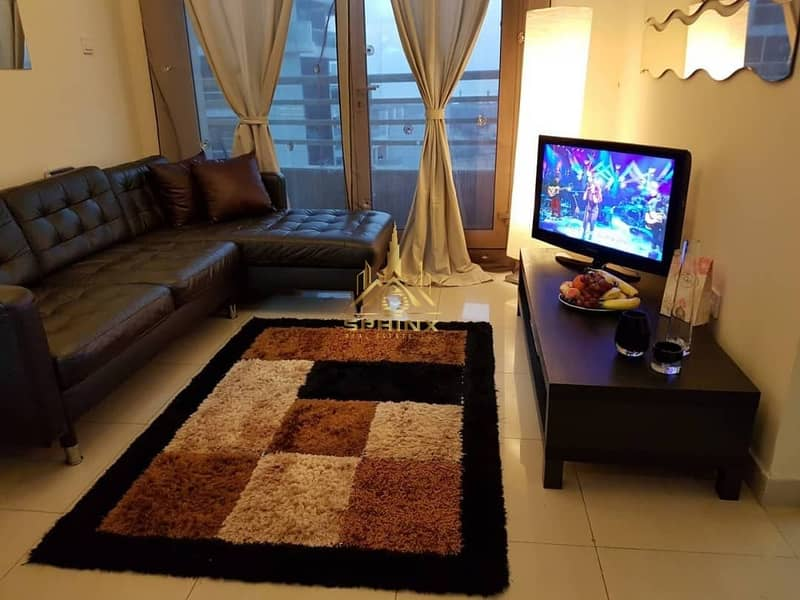 Cozy Fully Furnished 1BR Full Marina View