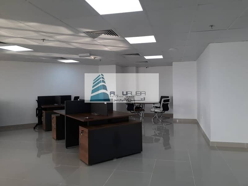 WELL ESTABLISHED OFFICE SPACES / FLEXIDESK  in Garhoud Views