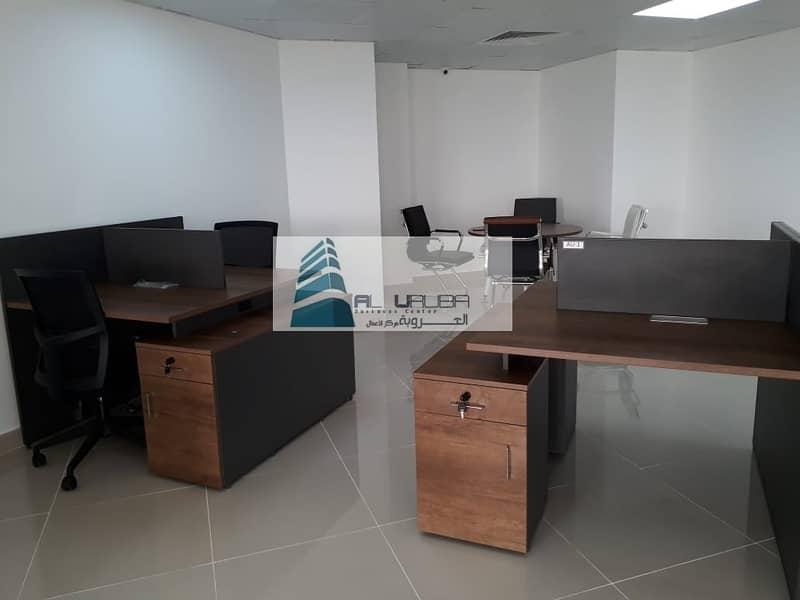 2 WELL ESTABLISHED OFFICE SPACES / FLEXIDESK  in Garhoud Views