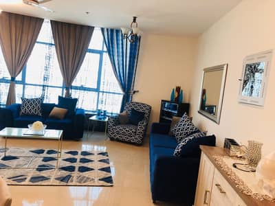 فلیٹ 2 غرفة نوم للبيع في شارع الشيخ مكتوم بن راشد، عجمان - شقة في برج كونكور شارع الشيخ مكتوم بن راشد 2 غرف 857000 درهم - 4349711