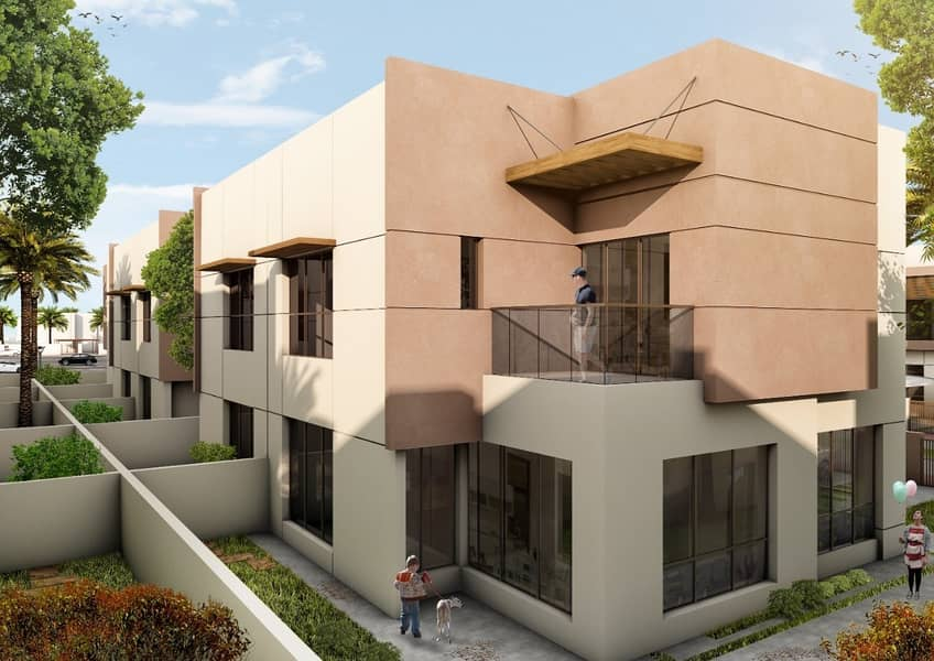 pay 10%  and own 5 bedroom   ready villa and installment for 5 years