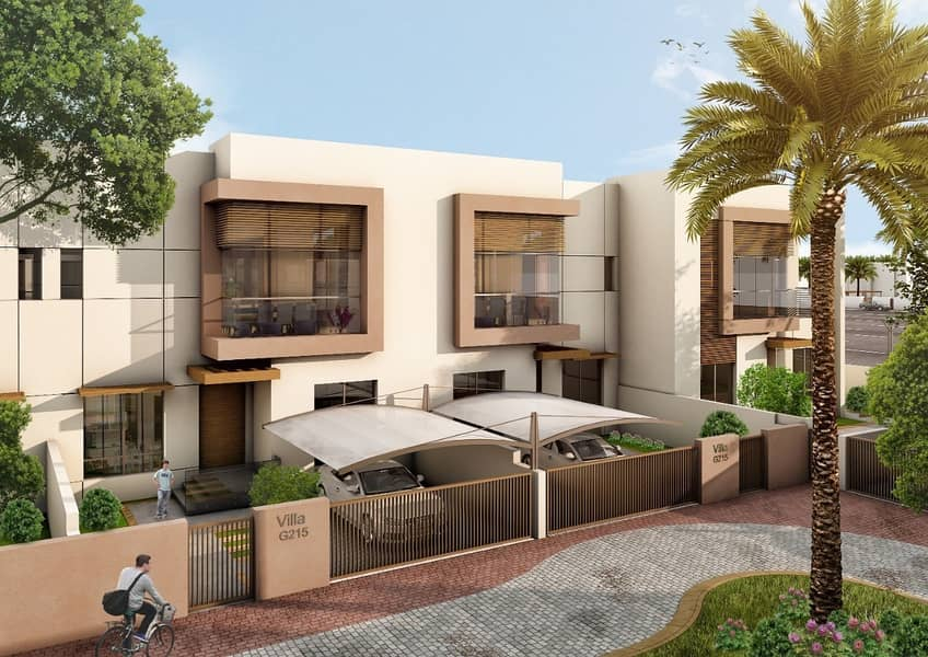2 pay 10%  and own 5 bedroom   ready villa and installment for 5 years
