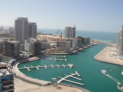 استوديو  للايجار في دبي مارينا، دبي - Stunning Full Sea View | Furnished Sea View | Chiller Free | Dubai Marina