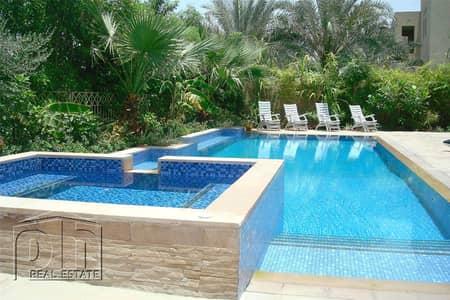 فیلا 5 غرف نوم للبيع في السهول، دبي - Exclusive| New to the market | Full Lake View | E1