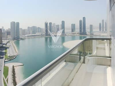 3 Bedroom Apartment for Sale in Al Khan, Sharjah - Lake View - 3 Bed+Maid with Parking - Best Deal