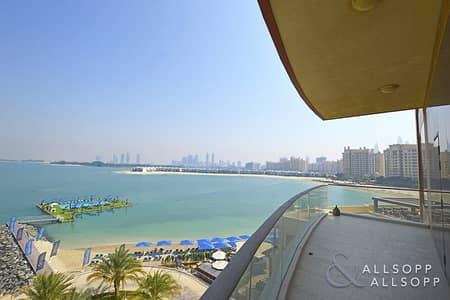 شقة 3 غرفة نوم للايجار في نخلة جميرا، دبي - Stunning 3 Bedrooms | Sea View | A Type
