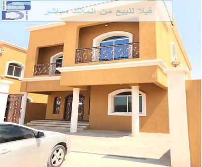 5 Bedroom Villa for Sale in Al Rawda, Ajman - The villa is free to all nationalities with the possibility of bank financing