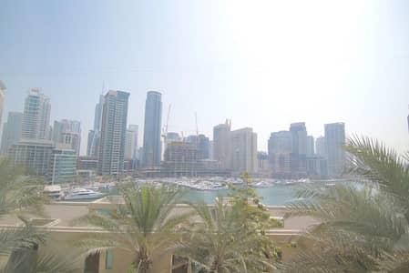 فلیٹ 2 غرفة نوم للايجار في دبي مارينا، دبي - Full Marina View   Unfurnished   Wood floor