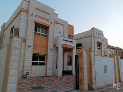 5 Bedroom Villa for Sale in Al Mowaihat, Ajman - Villa for sale personal finishing against a mosque by owner