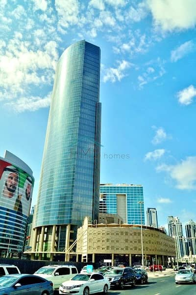 Office for Sale in Business Bay, Dubai - Shell and Core | Burj Khalifa View | Mid Floor