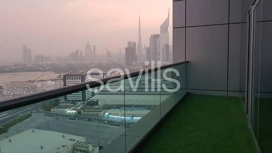 فلیٹ 3 غرفة نوم للايجار في مركز دبي التجاري العالمي، دبي - 3BR Duplex | High Floor | Downtown View | Vacant