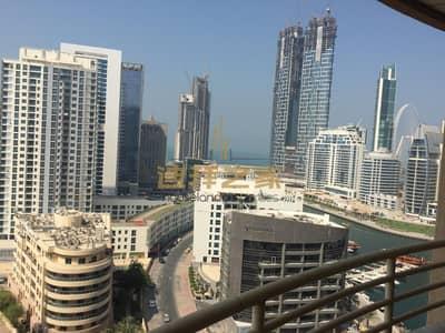 شقة 1 غرفة نوم للايجار في دبي مارينا، دبي - 1BR  For Less in Manchester Tower - Full Marina View