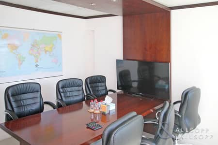 مکتب  للبيع في أبراج بحيرات جميرا، دبي - Fitted Office | For Sale | Partitioned
