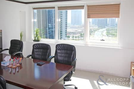 Office for Sale in Jumeirah Lake Towers (JLT), Dubai - Fitted Office | For Sale | Partitioned