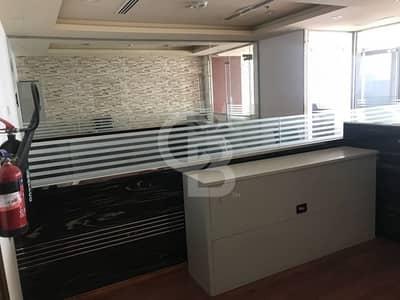 مکتب  للايجار في المنارة، دبي - Fully Fitted High Floor Office -with 2 Cover parking