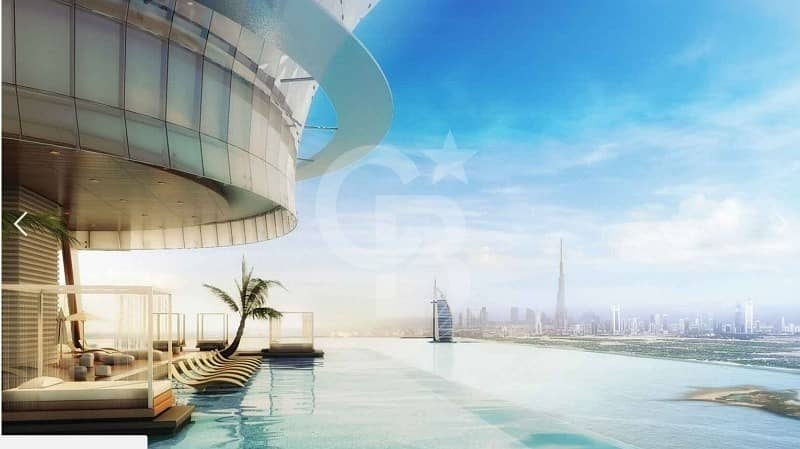 Sheer Luxury  Fully Furnished  Studio | Palm Tower