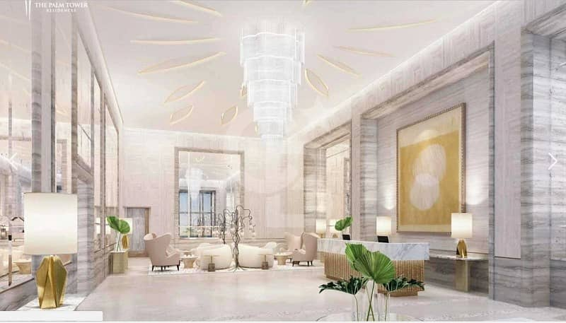 2 Sheer Luxury  Fully Furnished  Studio | Palm Tower