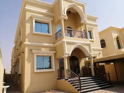 فیلا 5 غرفة نوم للايجار في المويهات، عجمان - فيلا للايجار بعجمان منطقه المويهات اول ساكن بالمكيفات طابقين ممتازه التشطيبات