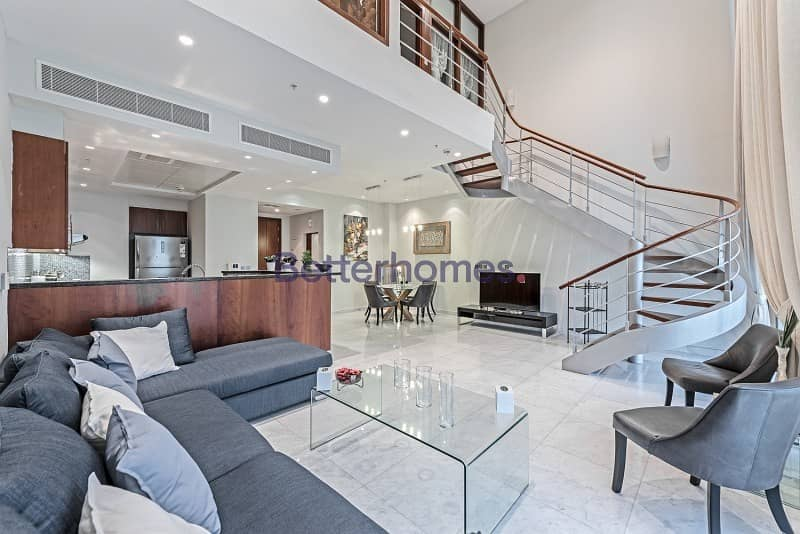 High Floor   See view  Furnished  Vacant