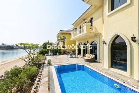 5 Bedroom Villa for Rent in Palm Jumeirah, Dubai - Atrium| Vacant |Furnished| Atlantis View
