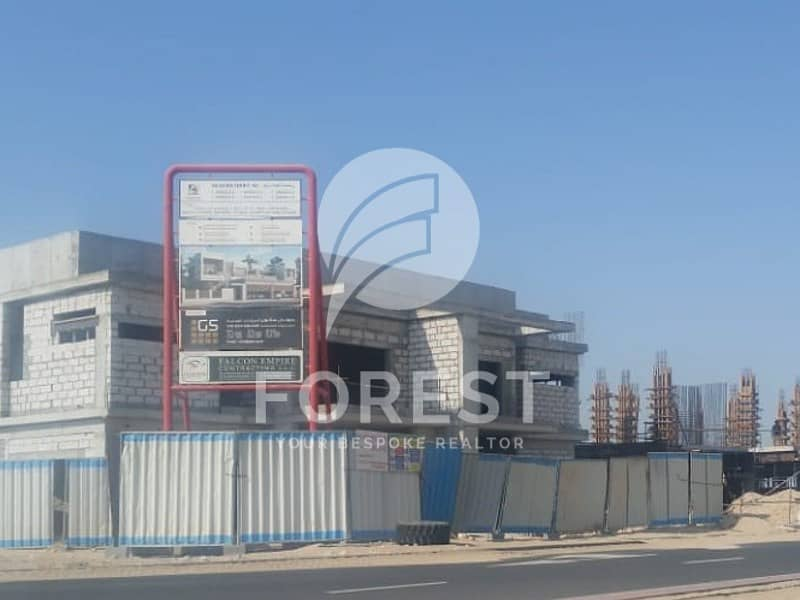 2 Single Row |VIP Location |Freehold Villa Plot |Jebel Ali Hills