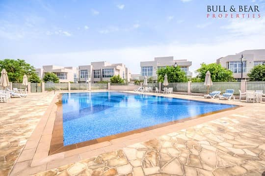 فیلا في فلل السدر واحة دبي للسيليكون 4 غرف 135000 درهم - 4352977