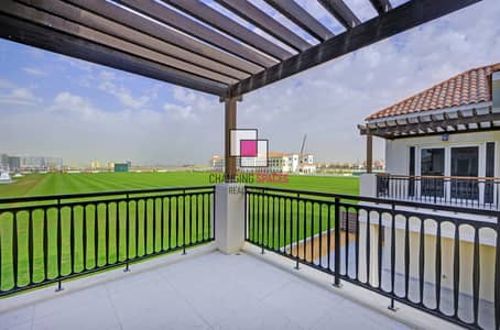 3 Bedroom Villa for Rent in Dubailand, Dubai - Only ONE 3 bed polo field facing available now