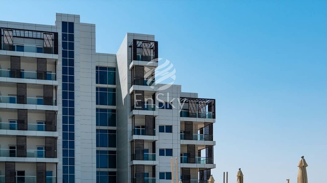 Own a furnished Studio in Green Area at Masdar
