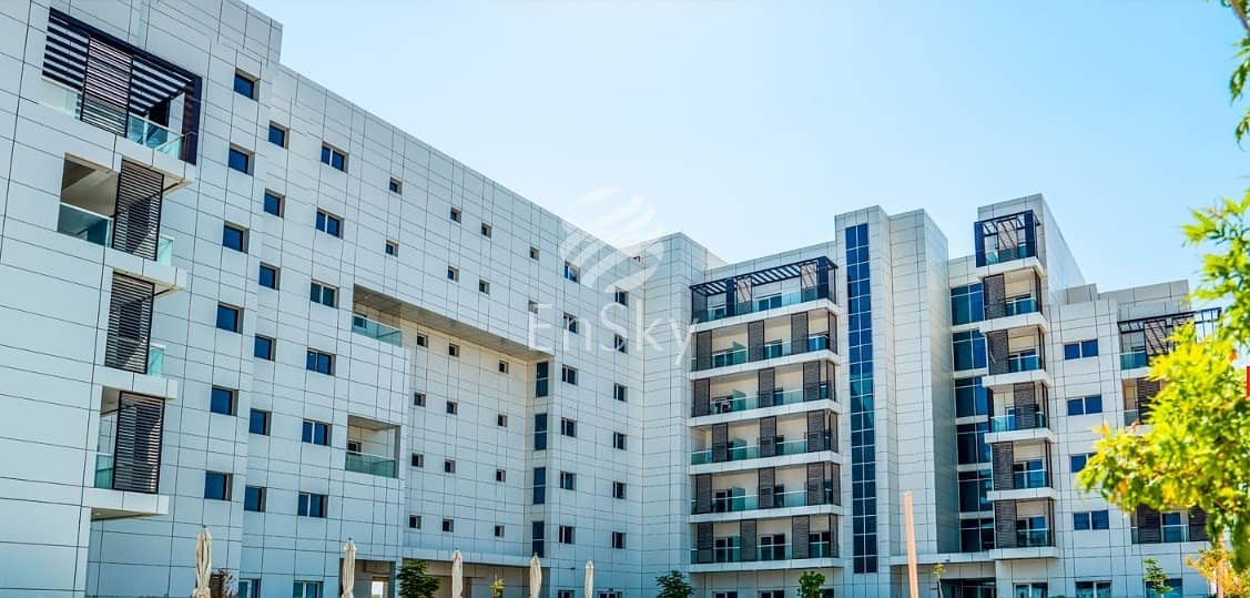 2 Own a furnished Studio in Green Area at Masdar