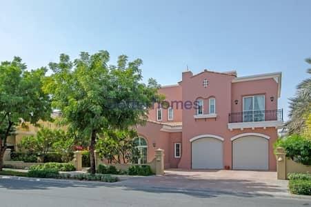 فیلا 5 غرفة نوم للبيع في المرابع العربية، دبي - Fully Renovated | Golf Course View | Private Pool