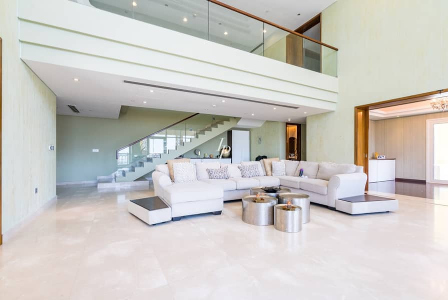 Vacant Duplex Penthouse  Stunning View On The Palm