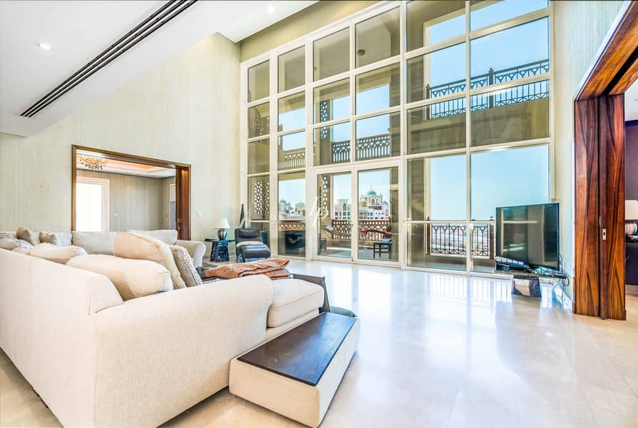 2 Vacant Duplex Penthouse  Stunning View On The Palm