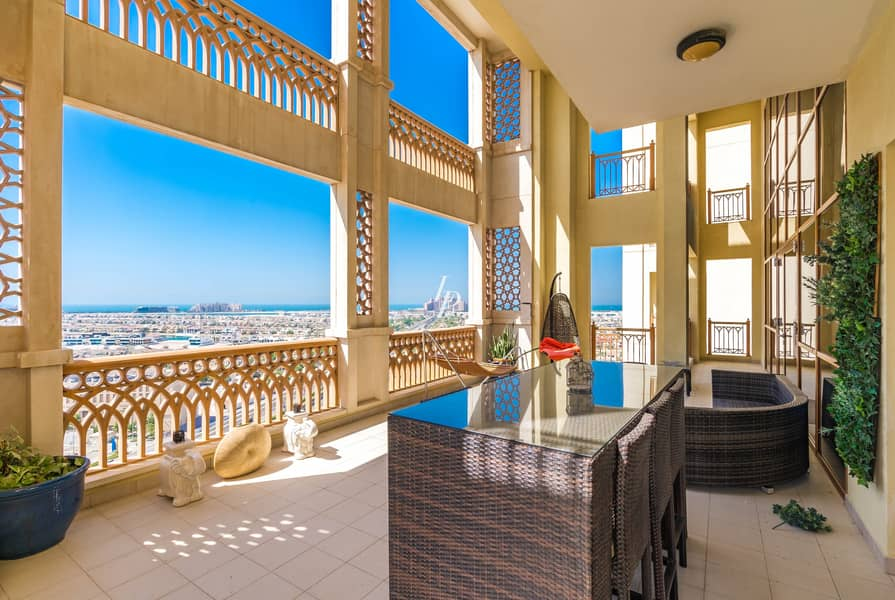 34 Vacant Duplex Penthouse  Stunning View On The Palm