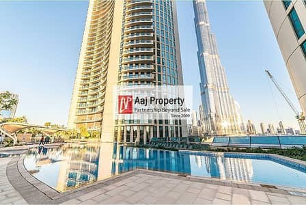 3 Bedroom Flat for Rent in Downtown Dubai, Dubai - Burj Vista|Most Demanding 05 Series |Full Burj & Fountain View!!