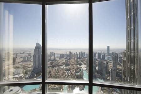 شقة 2 غرفة نوم للايجار في وسط مدينة دبي، دبي - High Floor | Fountain View |Stunning View Of Dubai