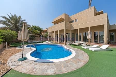 فیلا 5 غرفة نوم للبيع في المرابع العربية، دبي - Golf Course Saheel |Type 5 | Clean Condition