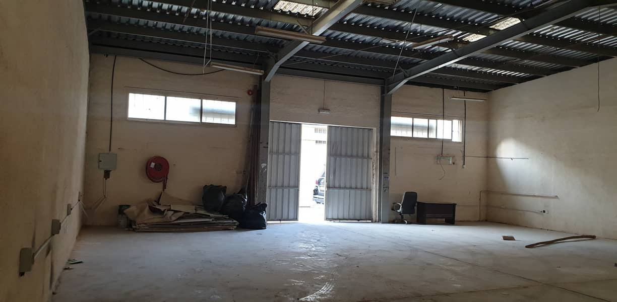2500 square feet warehouse close to ring road available in Industrial area 13, Sharjah