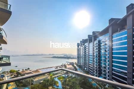 فلیٹ 1 غرفة نوم للبيع في نخلة جميرا، دبي - Vacant | High Floor with Sea and Community View